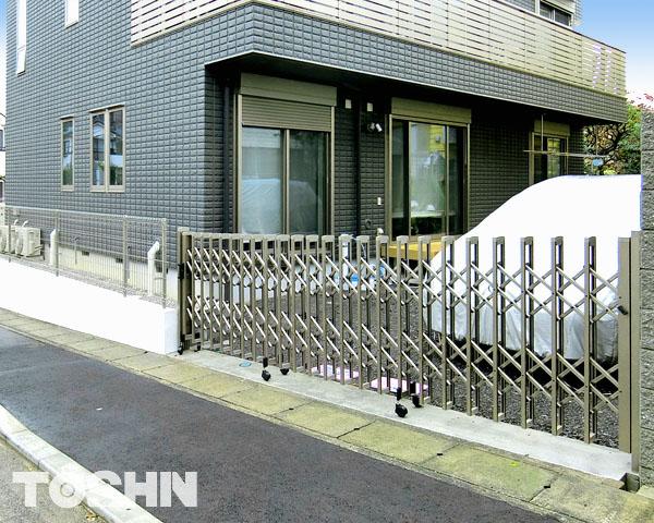 川崎市で動線確保した外構工事