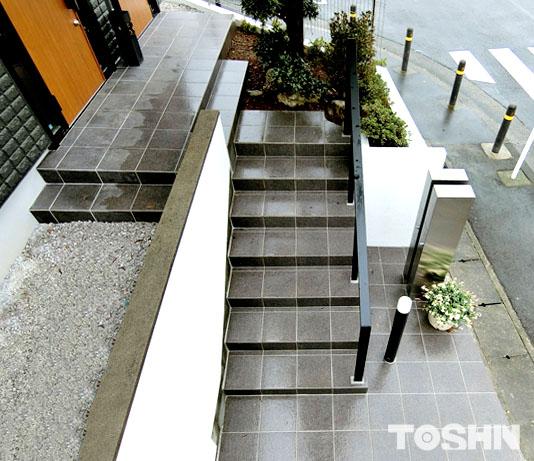川崎市で動線確保した外構工事確保した外構工事