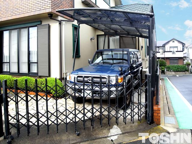 台風で壊れたカーポートの修理 施工後 海老名市 S様邸