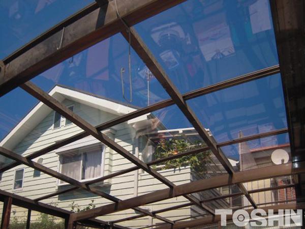 カーポート屋根材の交換工事 相模原市 T様邸